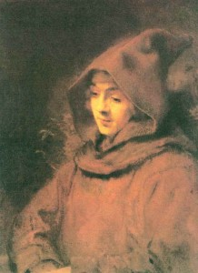 Titus in a Monk's Habit by Rembrandt Van Rijn