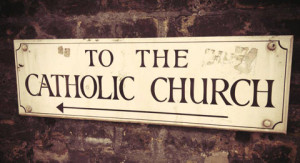 catholic-church-sign