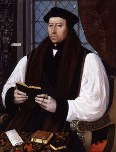 """Thomas Cranmer."" Gerlach Flicke. 1545. Oil on panel."