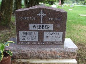 WebberGraveStone
