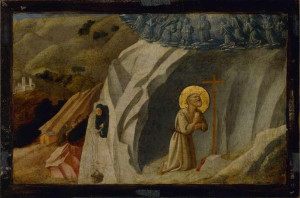 St Benedict at Subiaco Workshop of Fra Angelico c 1400
