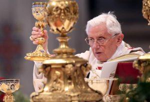 Pope-benedict-XVI-Celebrates-Mass