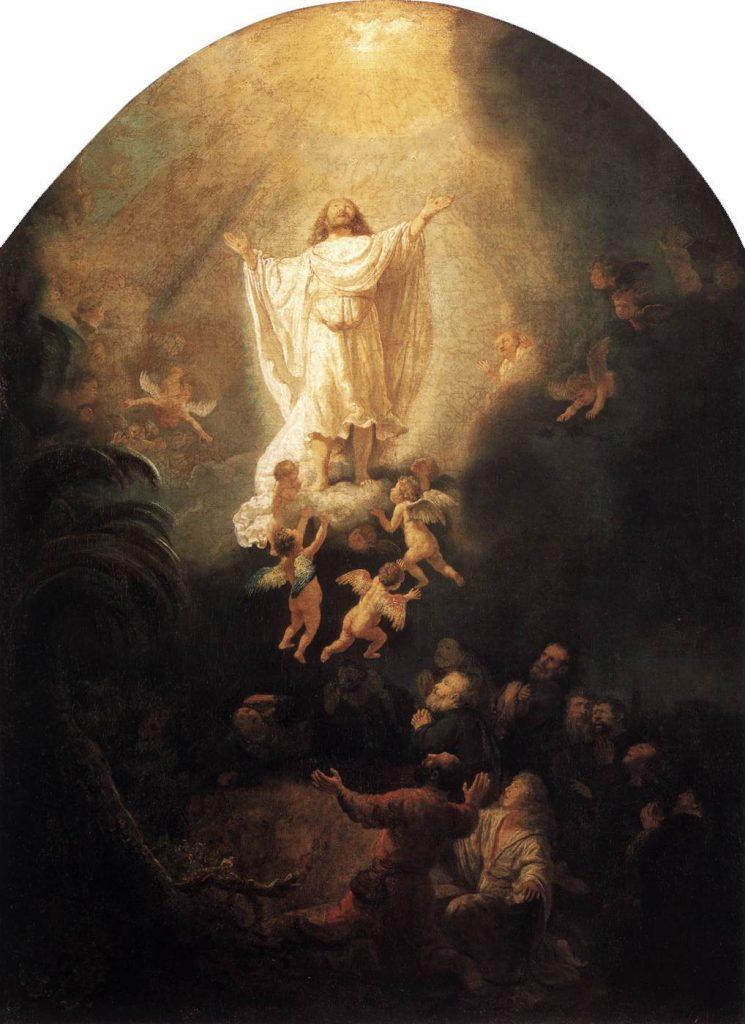 """""""Ascension of Christ."""" Rembrandt"""