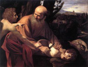 """Sacrifice of Isaac."" Caravaggio"