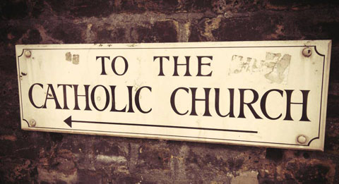 catholic-church-sign